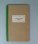 Federal Football League Accounts Book, 1977