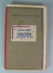 Federal District League Expense Book, 1958-1965