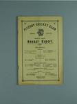 Annual report, Fitzroy Cricket Club - season 1943/44