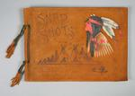 Photograph album with material relating to travels of Frank Beaurepaire, to USA & Canada