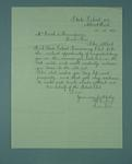 Letter addressed to Frank Beaurepaire from H. Hurley, dated 1910