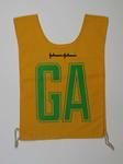 Australian team uniform positional bib, c. 1990