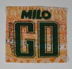 Australian team uniform positional patch worn and signed by Australian captain Michelle Fielke, c. 1995