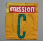 Australian netball team uniform positional patch, 2011