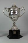 Adidas Trophy won by Henry Nissen for securing the Commonwealth (Empire) Flyweight title, 1971