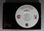 Commemorative plate, Hong Kong Cricket Club 160th Anniversary Golf Tour
