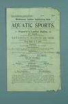 Programme for Melbourne Ladies Swimming Club Annual Swimming Carnival, 28 March 1908