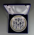Spirit of Cricket Tournament commemorative plate, 2002