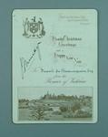 Christmas card addressed to Frank Beaurepaire from the Premier of Victoria, 1910