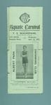 Programme for the Albert Park Swimming Club's Aquatic Carnival, 24 April 1907