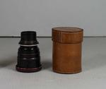 Graflex Camera Lens in Taylor Hobson case used by T.H. Harry Morris