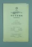 Programme for the Illinois Athletic Club Otters Competition, 1924