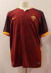 Replica AS Roma playing jersey signed by members of AS Roma football team, 2015