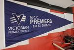 Victorian Premier Cricket premiership pennant awarded to Melbourne Cricket Club First XI, 2012-13