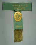 Sash, Footscray Amateur Cycling Club 25 Mile Road Championship 1934