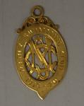 Gold medal awarded to Richmond 'Dick' Eve, Manly Amateur Swimming Club Diving Championship, 1920