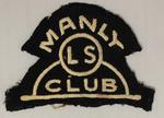 Manly Surf Lifesaving Club pocket patch worn by Richmond 'Dick' Eve, c.1920s