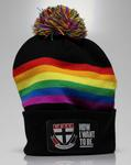 "St Kilda Football Club ""Pride"" membership beanie, 2016"