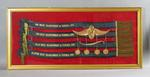 Framed Cycling sashes and medals  - All-Round Championship of Victoria 1926 - won by Eric Gibuad