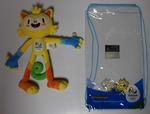 Plush toy of 'Vinicus', Rio De Janeiro Olympic Games mascot, 2016