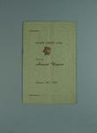 Annual report, Fitzroy Cricket Club - season 1952/53