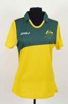 Australian team competition shirt worn by Melissa Tapper, Rio De Janeiro Paralympic Games, 2016