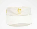 Sun visor worn by Kim Brennan, women's single sculls, Rio Olympic Games, 2016