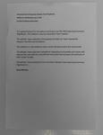 Speech notes used by Kitty Chiller for Australian flag-bearer announcement, Rio de Janeiro Olympic Games, 2016