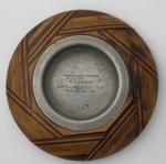 Ashtray presented to Ian Johnson, Australian Eleven's Tour, 1946