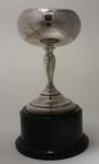Trophy awarded to Stan Davies from Wesley College, 1936