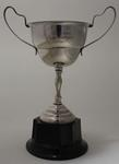 Trophy for rings champion, awarded to Stan Davies by Australian Gymnastics Union, 1950