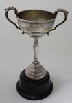 Trophy for member of champion team, awarded to Stan Davies by Australian Gymnastics Union, 1950