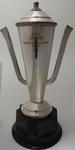 Trophy for Australian individual champion gymnast, awarded to Stan Davies by Australian Gymnastics Union, 1953