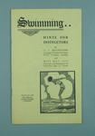 Booklet titled, 'Swimming..Hints for Instructors'
