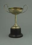 Trophy - Small silver two- handled cup associated with Ernie Milliken