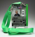 Mick Malthouse AFL match day pass, 2015