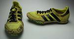 Adidas shoes used by Glynis Nunn, 1984 Los Angles Olympic Games.
