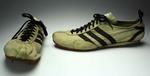 Adidas shoes used by Ron Clarke, circa 1960s.