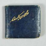 Autograph book, containing signatures of bicycle riders c1937