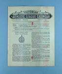 Victorian Athletic League Calendar, Jan 1929