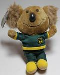 'Willy' plush mascot toy, 1984 Los Angeles Olympic Games