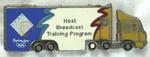 'Host Broadcast Training Program' pin produced for the Sydney 2000 Olympic Games