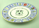 """Plate, """"Worcestershire County Cricket Club - County Cricket Champions 1989"""""""