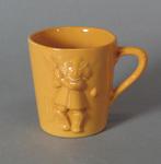 Cup, child's cricket design