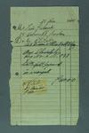 Hand written receipt from Mr Eric Gibaud to R. L. Bates dated 21 December 1940 for purchase of a Chevrolet.