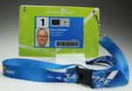 Security pass issued to Barry Minster for the 2012 Australian Open