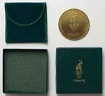 Participation medal for Atlanta 1996, presented to Australian team physiotherapist Wendy Braybon
