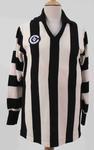 Murtoa Football Club guernsey worn by Tony Baker, c.1990s