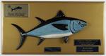 Riviera Port Lincoln Tuna Classic overall champion boat trophy, presented to David Buckland 2019