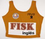Orange beach volleyball pro-circuit top worn by Kerri Pottharst